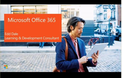 Microsoft Office 365 Webinar